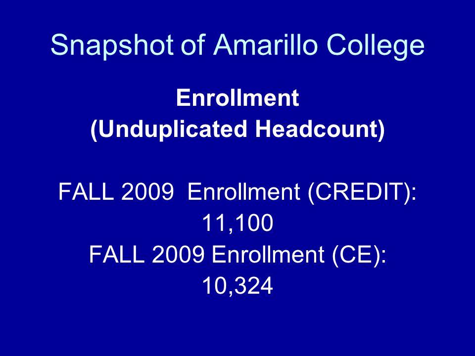 Snapshot of Amarillo College