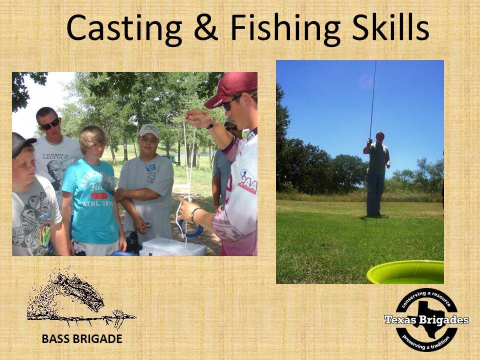 BASS BRIGADE Casting & Fishing Skills