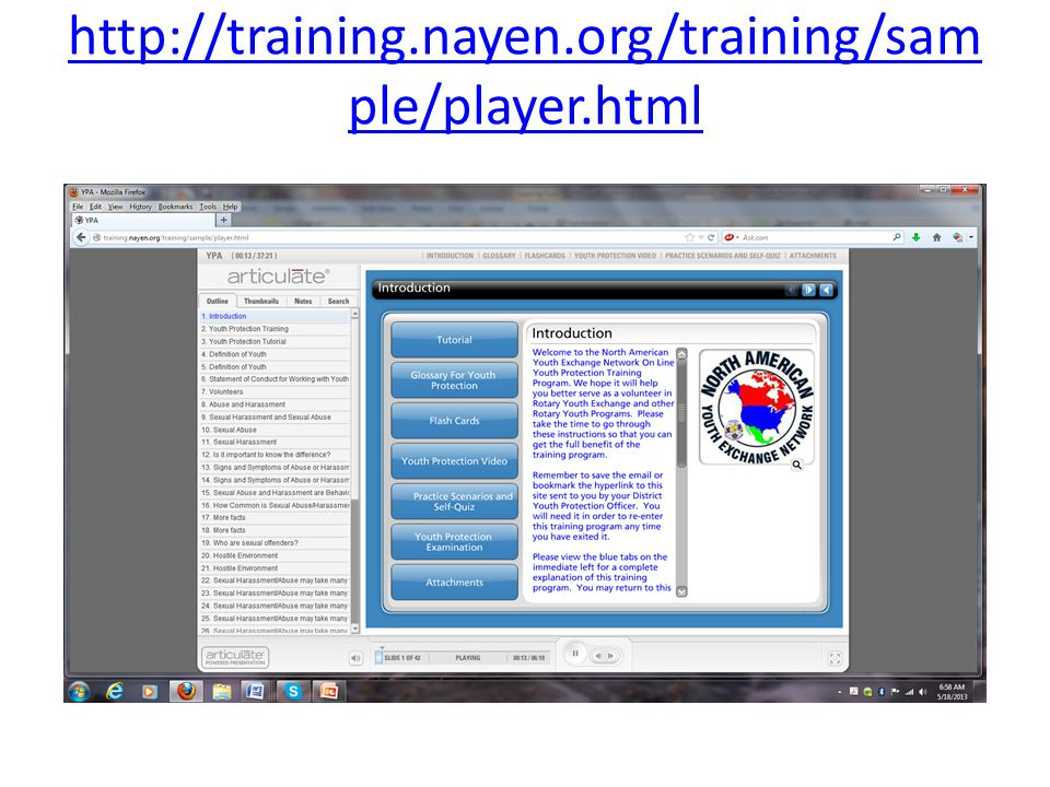 http://training.nayen.org/training/sam ple/player.html