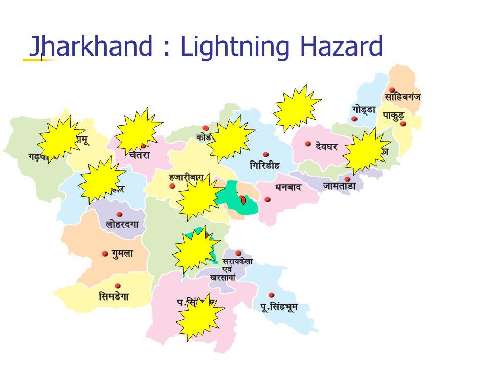 Jharkhand : Lightning Hazard