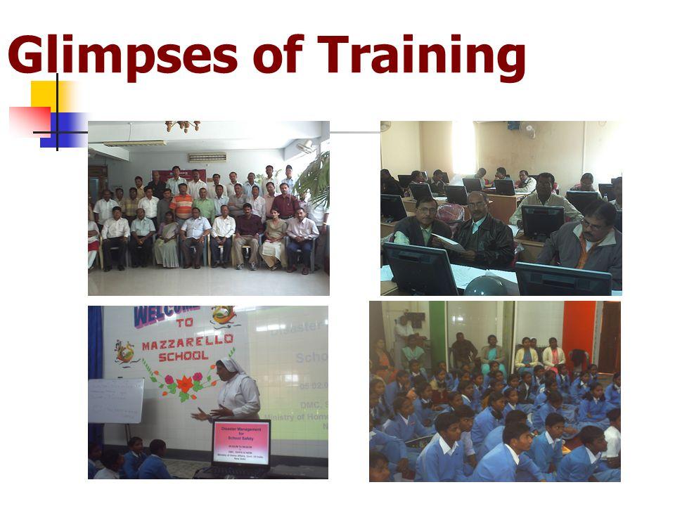 Glimpses of Training