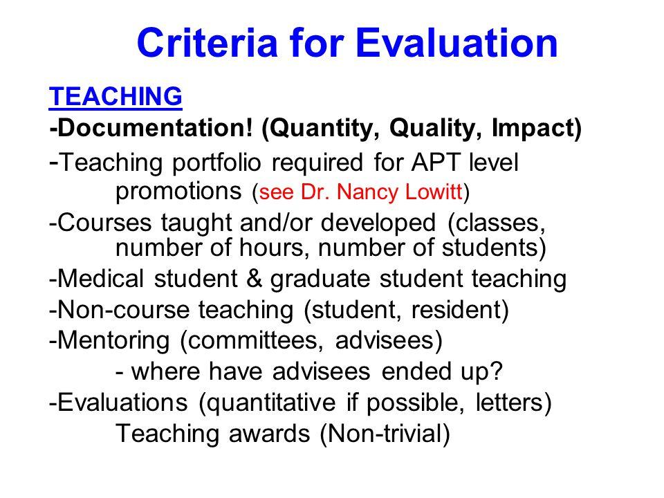 TEACHING -Documentation.