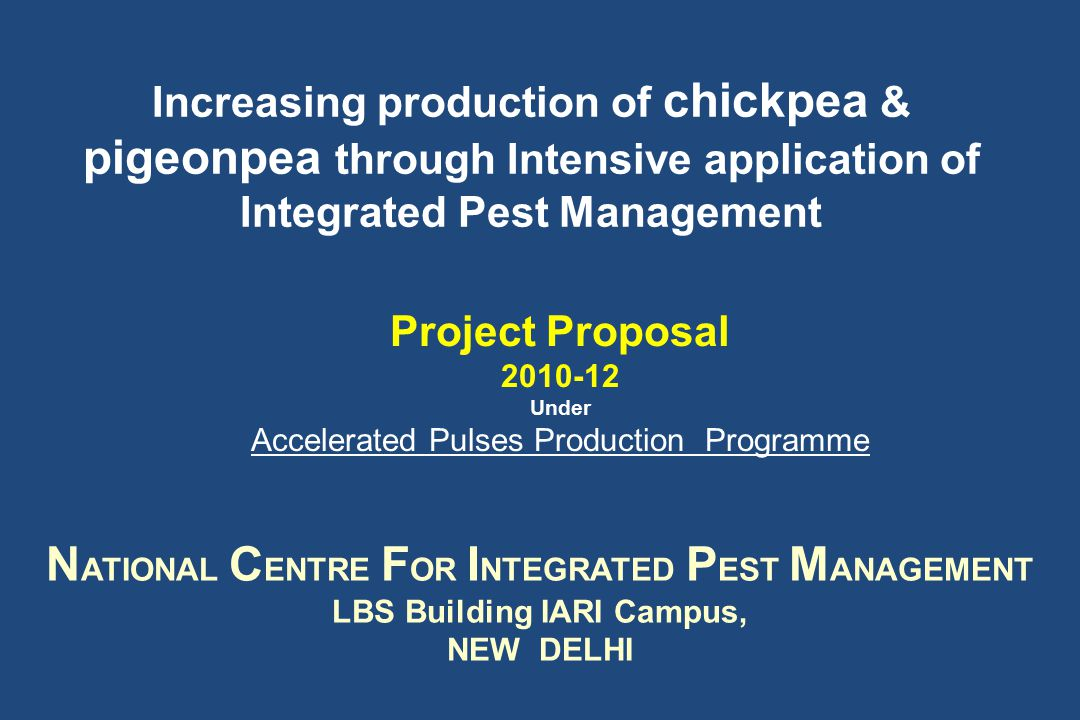 In rainfed ecology realizing yield potential of promising varieties depends upon management of biotic and abiotic stresses EdaphicAbioticBiotic Plant Diseases Insects Nematodes Chickpea - Area =7.63 Mh Production= 5.47 MT Source DAC Govt.