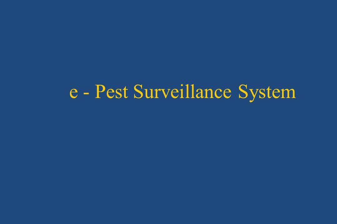 e - Pest Surveillance System
