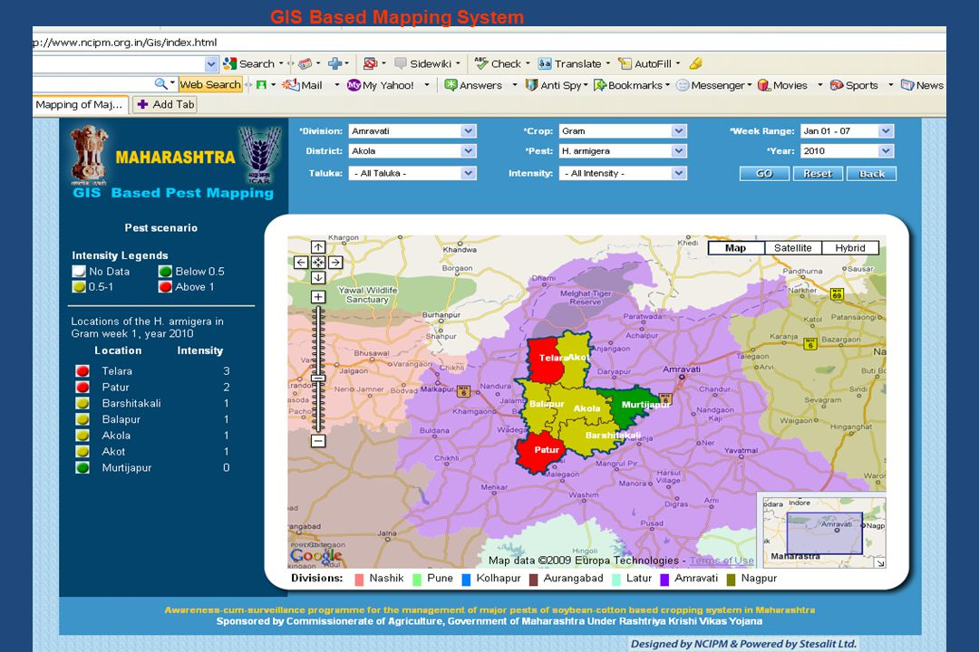 GIS Based Mapping System