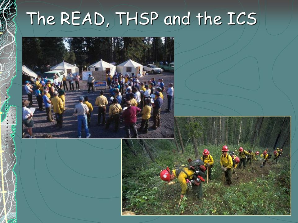 The READ, THSP and the ICS