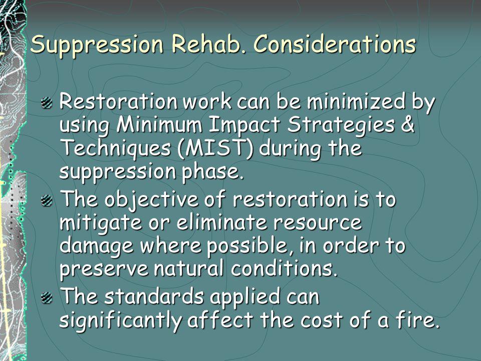 Suppression Rehab.