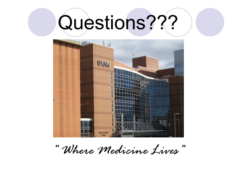 Questions Where Medicine Lives