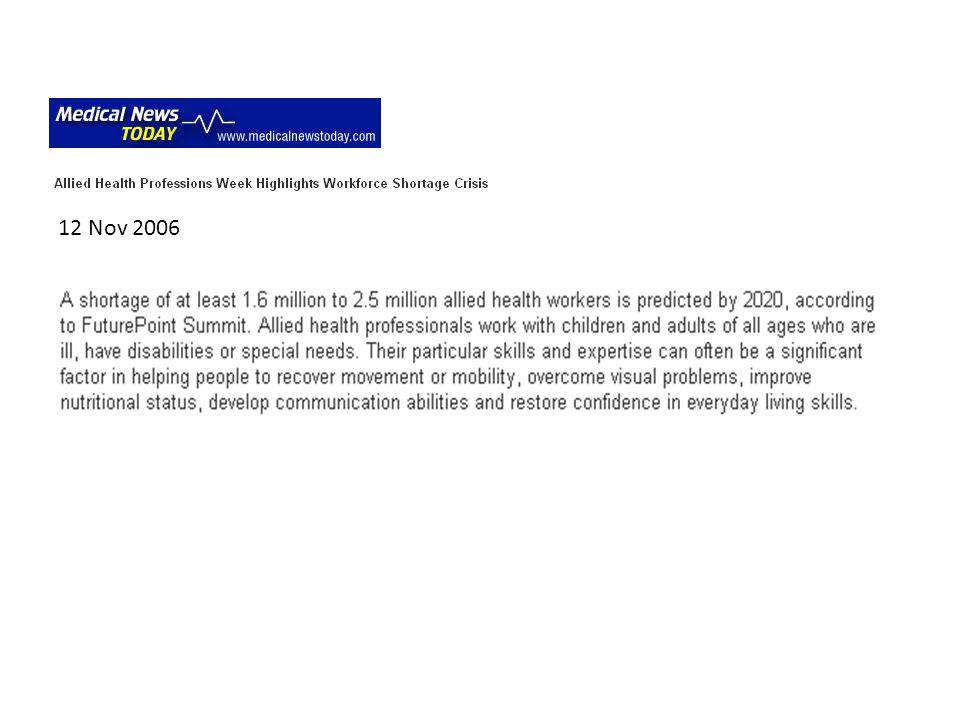 12 Nov 2006
