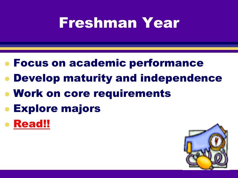 Academic Record l GPA l Course loads l Upper Division Credits l Research l W grades