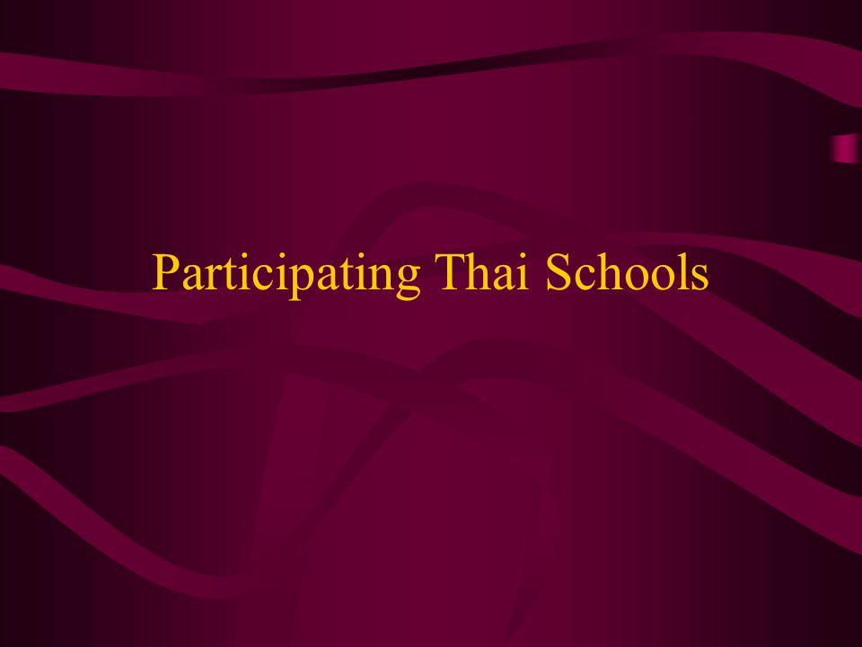 Participating Thai Schools