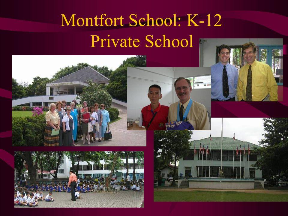 Montfort School: K-12 Private School