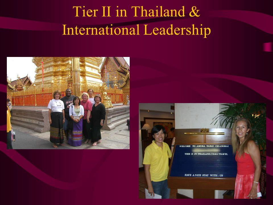 Tier II in Thailand & International Leadership