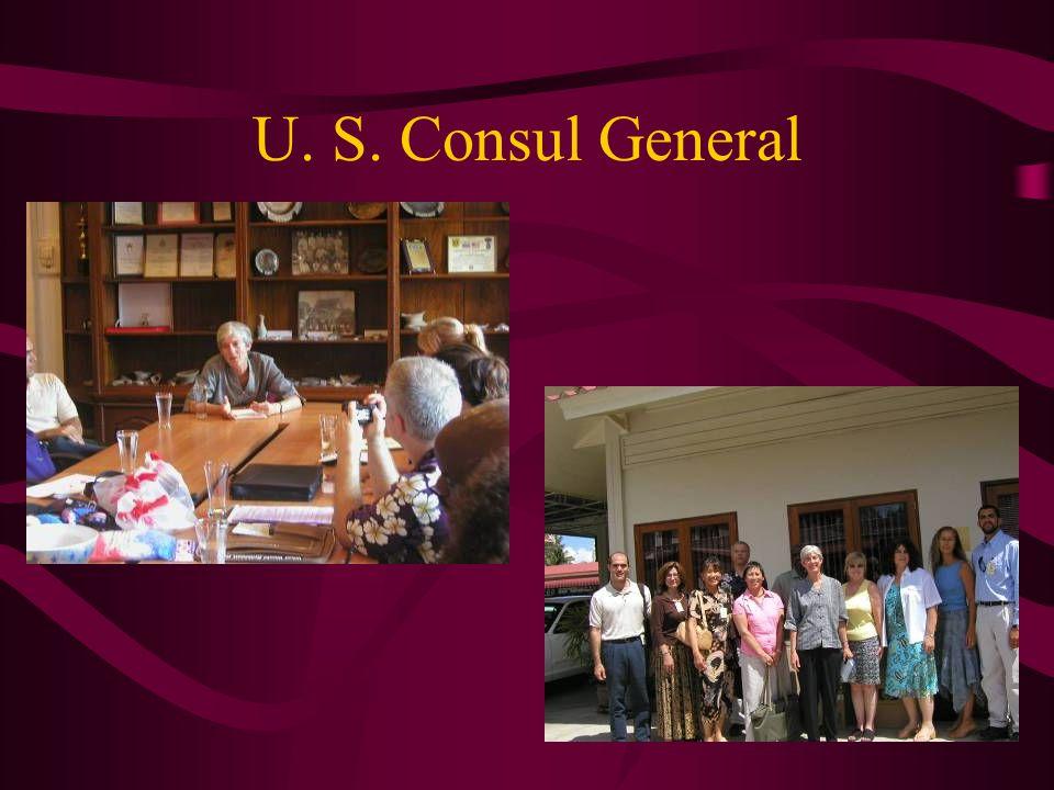 U. S. Consul General