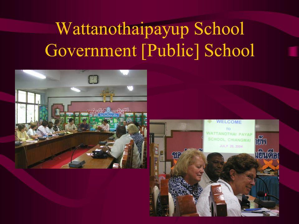 Wattanothaipayup School Government [Public] School