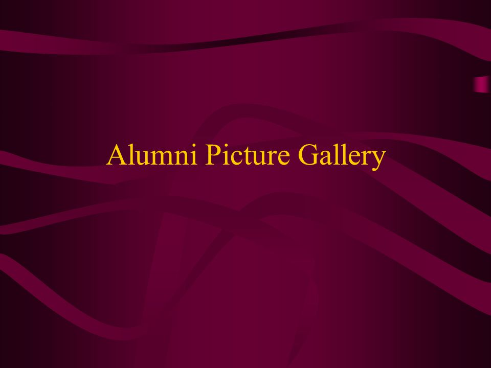 Alumni Picture Gallery