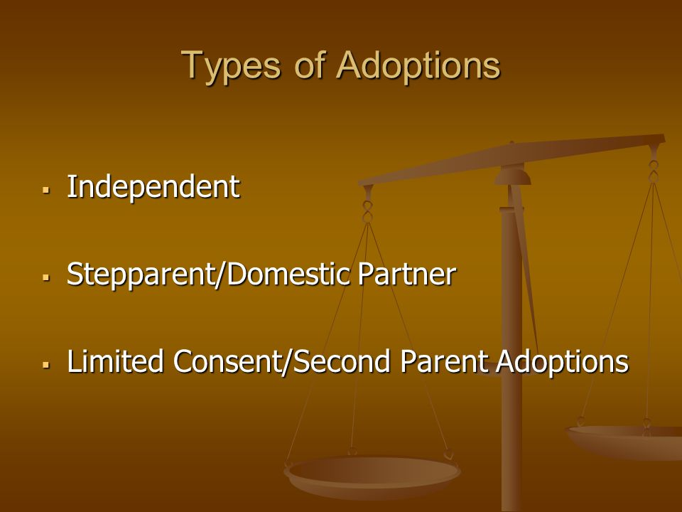 Overview of the Adoption Process Step 1: Adoption Request Step 1: Adoption Request Step 2: Home Study Investigation/Report Step 2: Home Study Investigation/Report Step 3: Termination of Parental Rights Step 3: Termination of Parental Rights Step 4: Finalization Stage Step 4: Finalization Stage