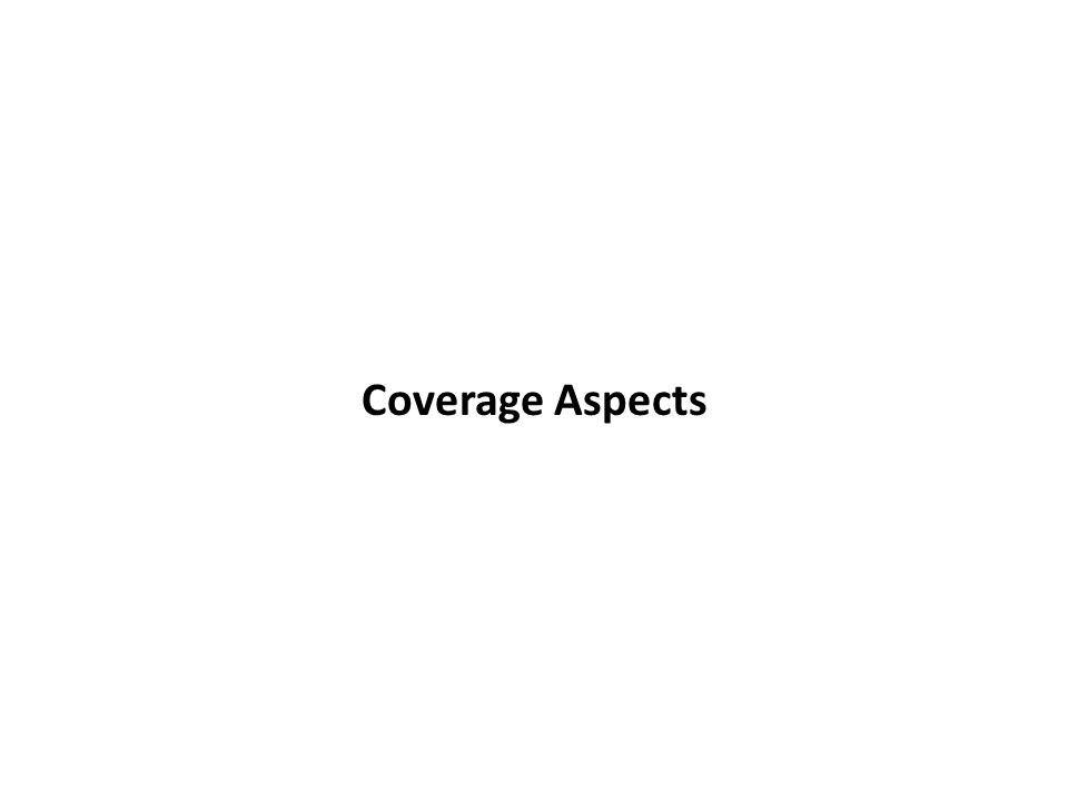 Coverage Aspects