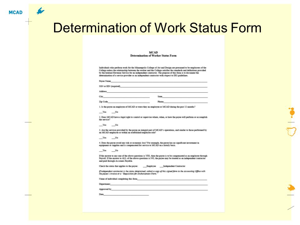Employee Action Notice Form