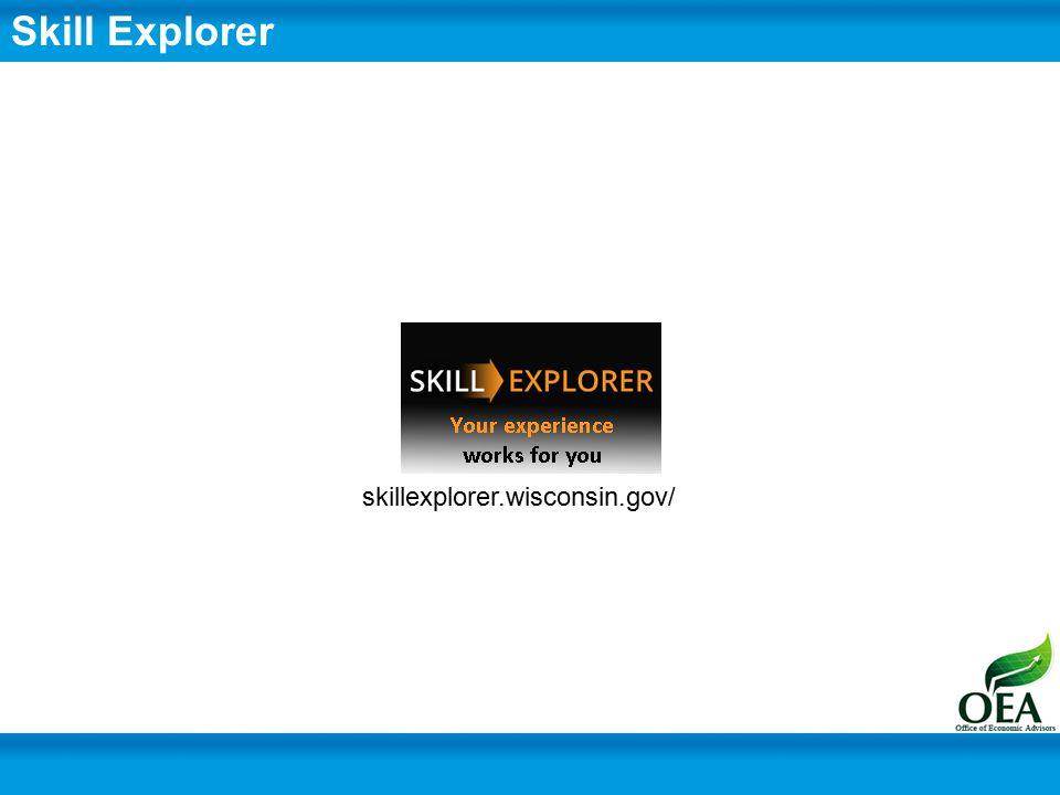 skillexplorer.wisconsin.gov/ Skill Explorer