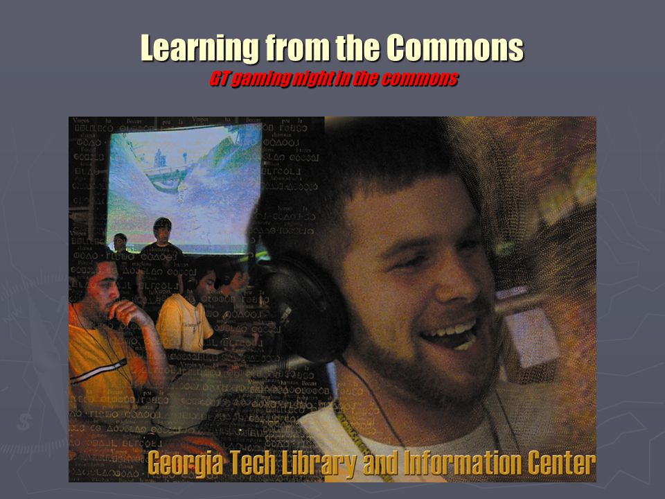 Learning from the Commons Ohio University's Computer Concourse