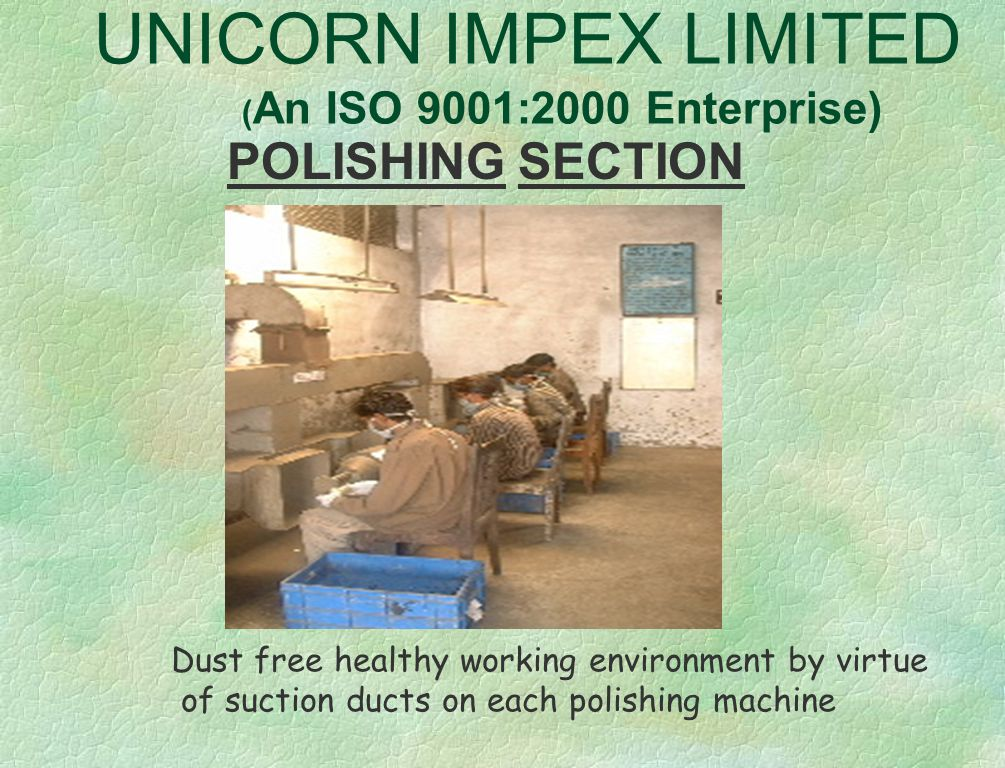 UNICORN IMPEX LIMITED ( An ISO 9001:2000 Enterprise) PRODUCTS * Window Fashion Accessories * Bath Accessories * Picture Frames * Mirror Frames