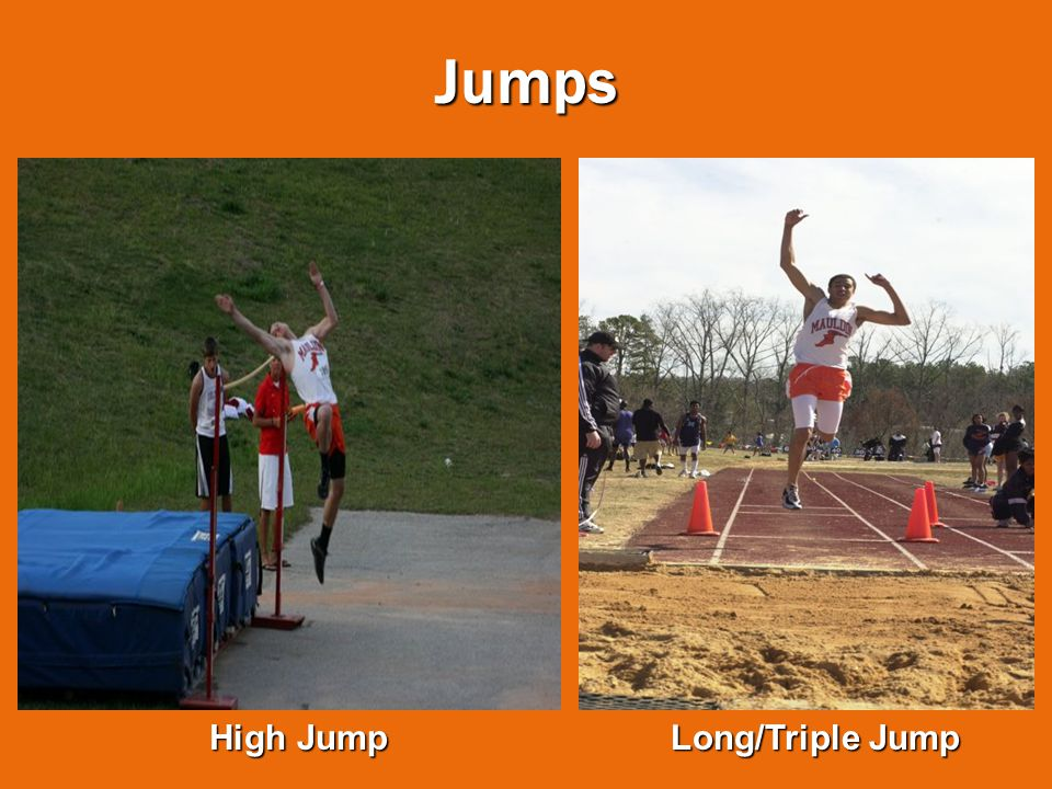 Jumps High Jump Long/Triple Jump