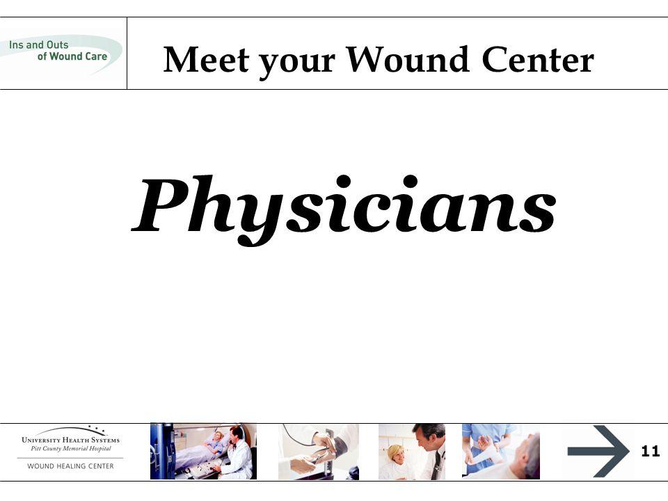 11 Physicians Meet your Wound Center