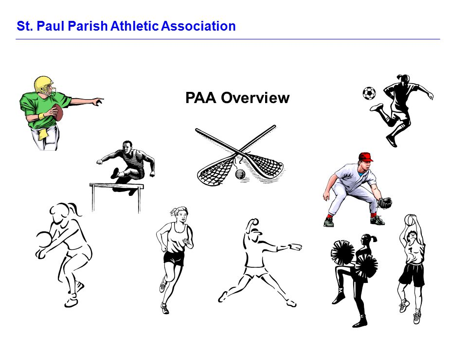 St. Paul Parish Athletic Association PAA Overview