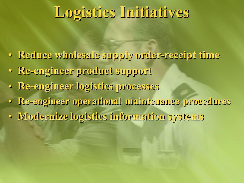 Logistics Transformation Logistics Transformation