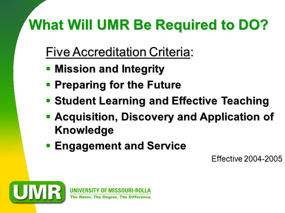 What Will UMR Be Required to DO.
