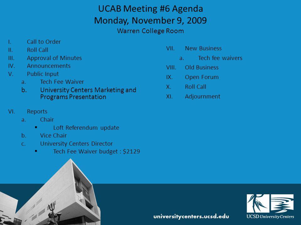University Centers Programs & Marketing 2009-10 Sharon Van Bruggen svanbruggen@ucsd.edu 858-534-4022