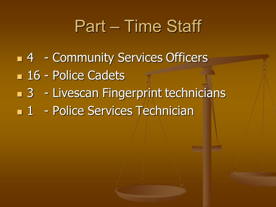 Police Services Officers