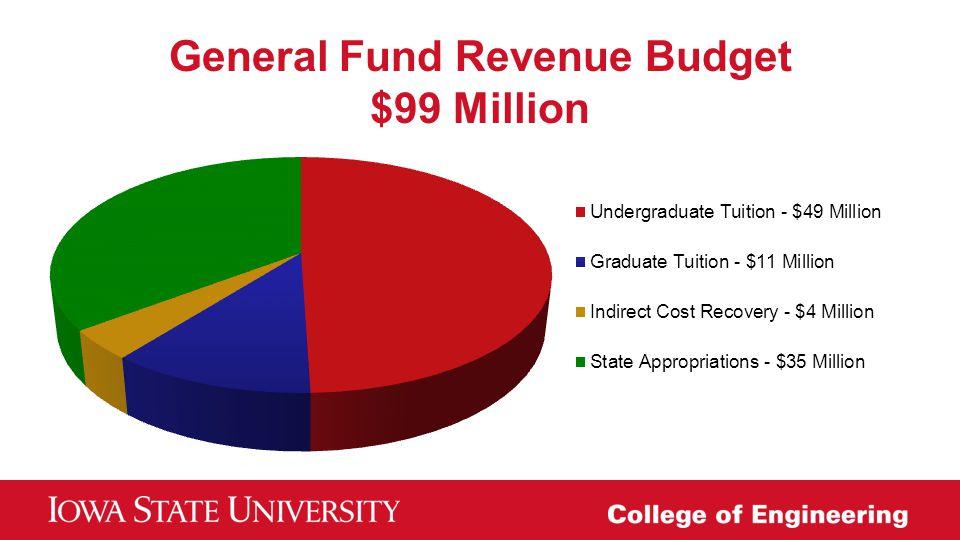 General Fund Revenue Budget $99 Million