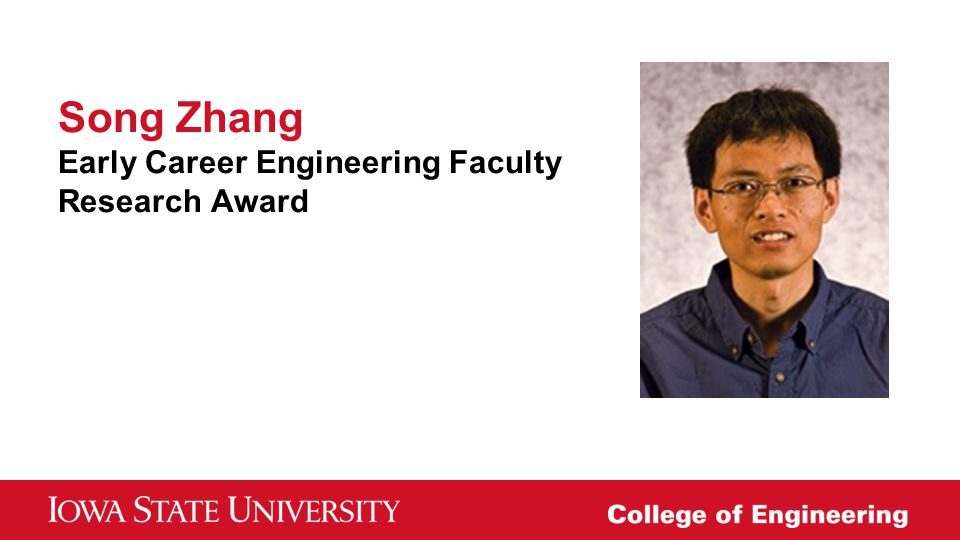 Song Zhang Early Career Engineering Faculty Research Award