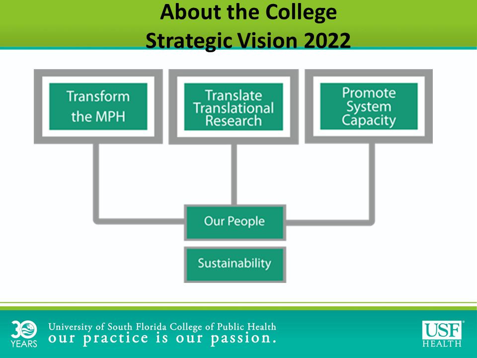 About the College Strategic Vision 2022