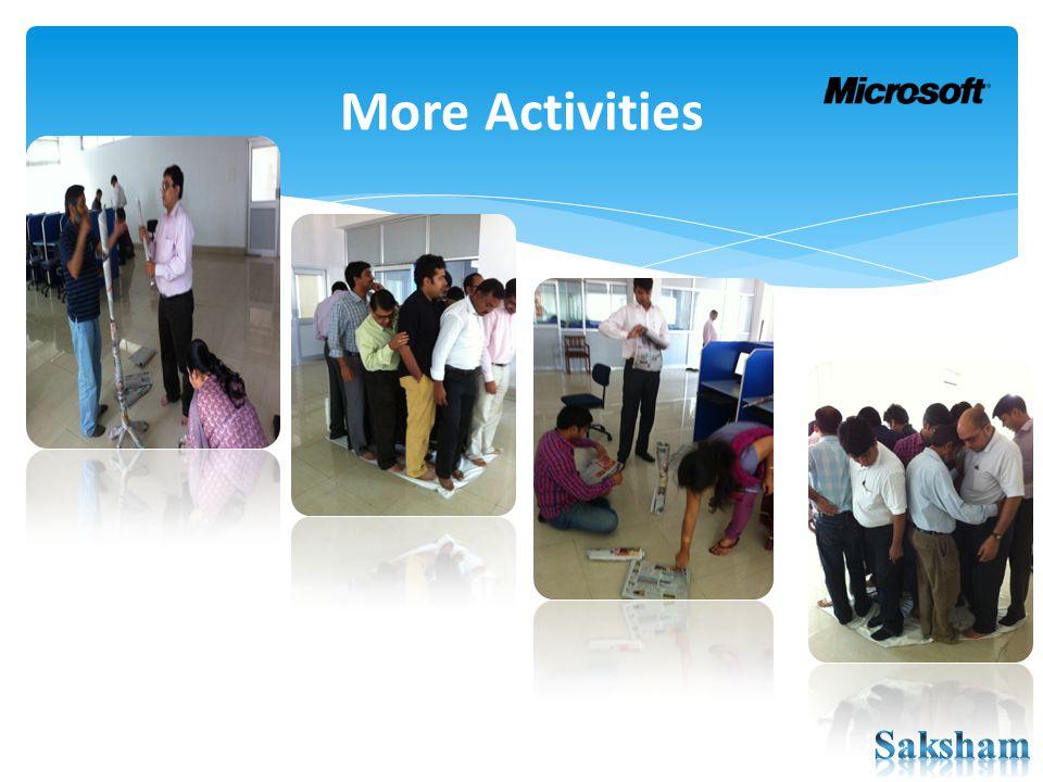 More Activities