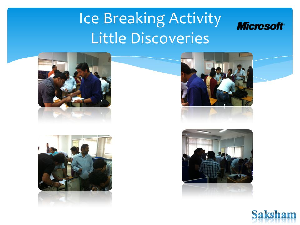 Ice Breaking Activity Little Discoveries