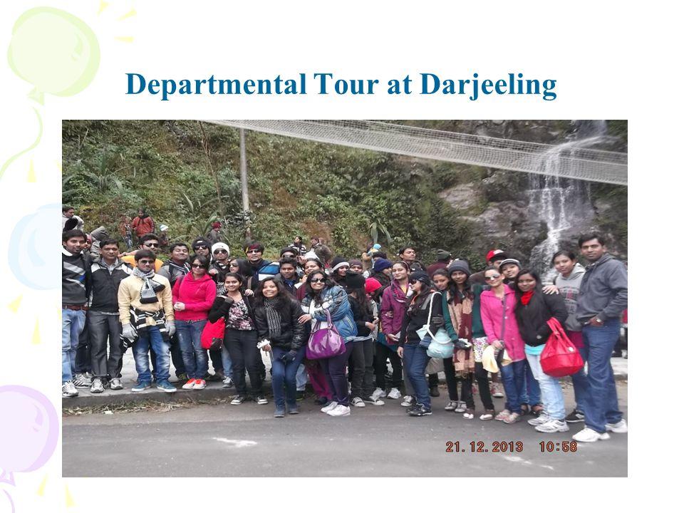 Departmental Tour at Darjeeling