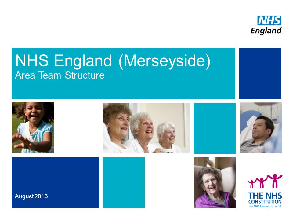 NHS England (Merseyside) Area Team Structure August 2013