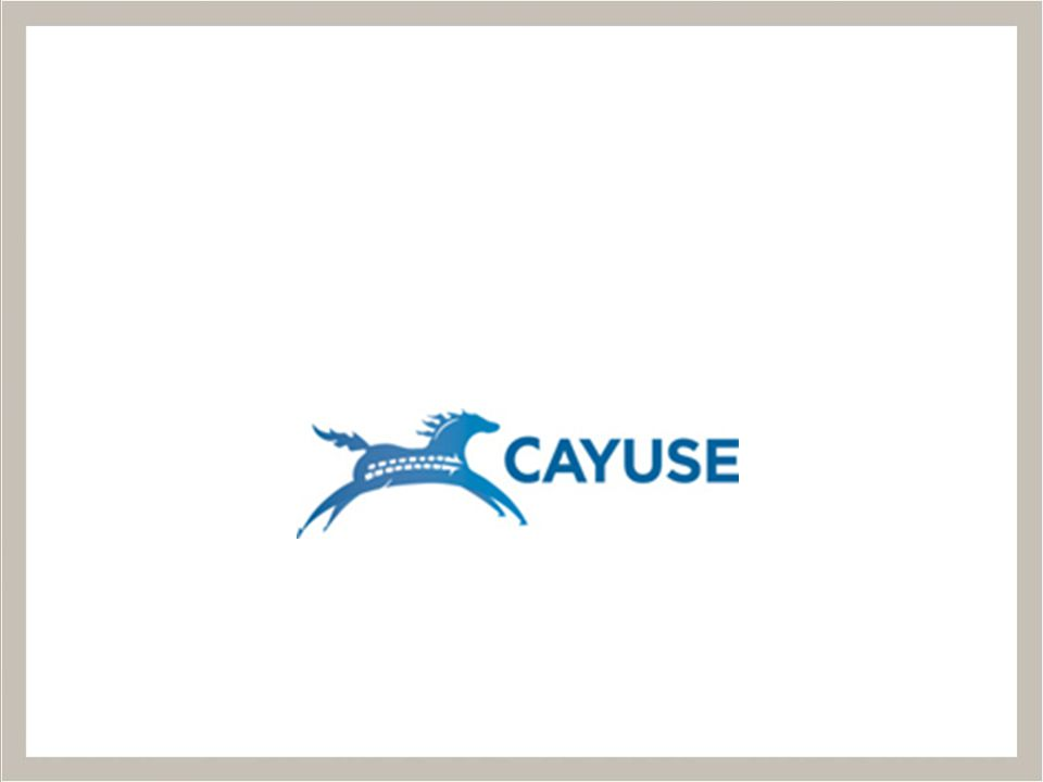 Office of Sponsored Programs Cayuse has come to OSU