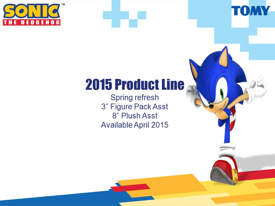 "2015 Product Line Spring refresh 3"" Figure Pack Asst 8"" Plush Asst Available April 2015"