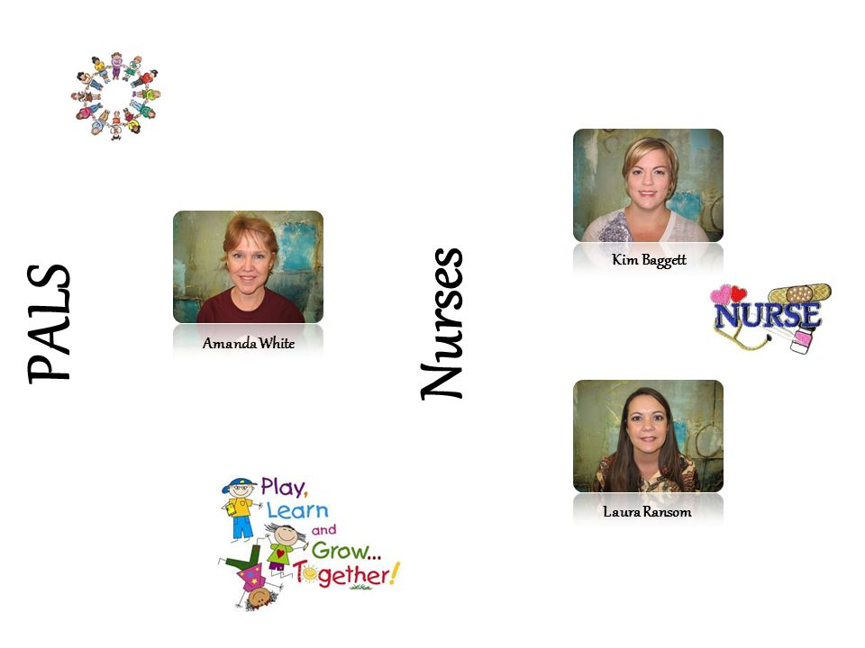 PALS Nurses Amanda White Kim Baggett Laura Ransom