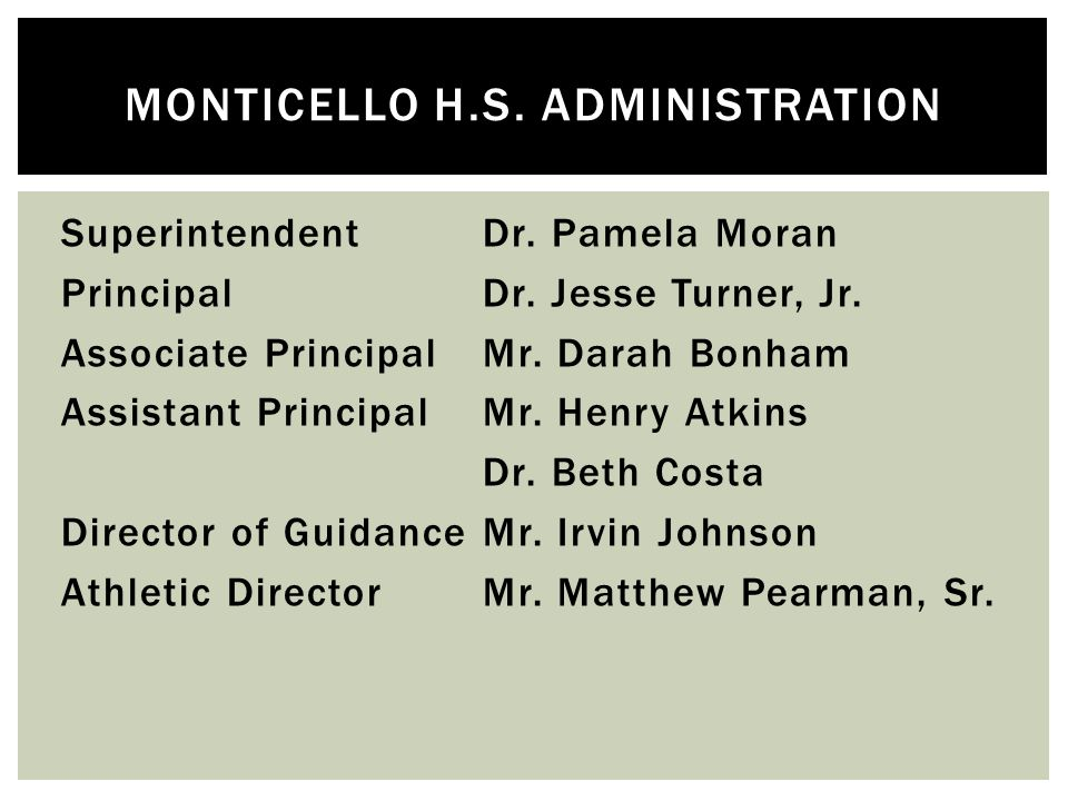 - To provide information about the athletic department for the winter athletic season and the 2014-15 school year.