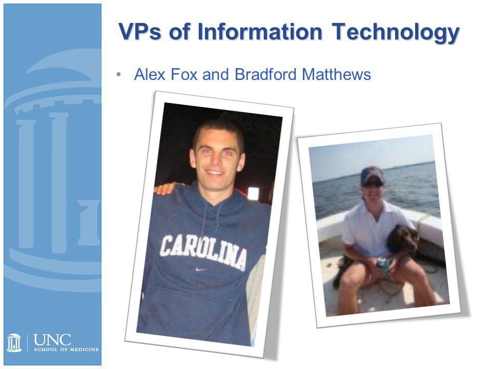 VPs of Information Technology Alex Fox and Bradford Matthews