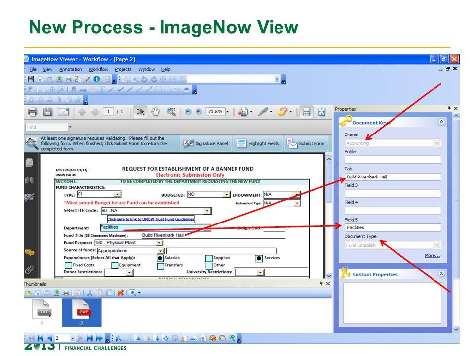 New Process - ImageNow View 12
