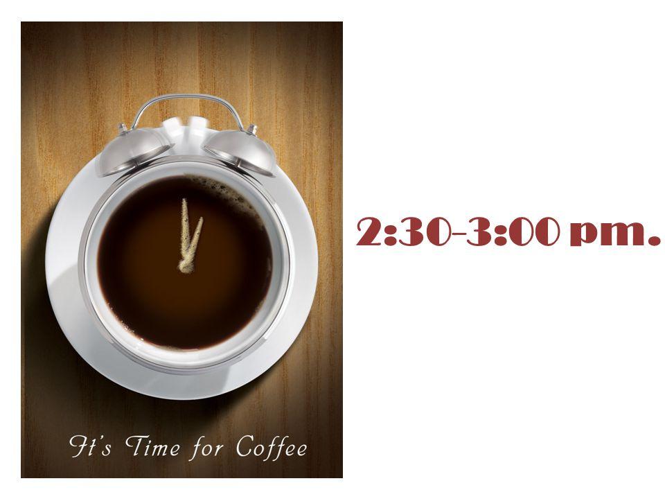2:30-3:00 pm.