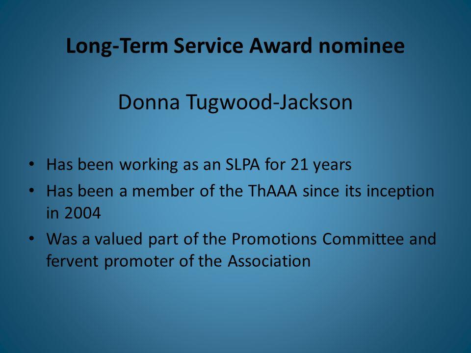 Long-Term Service Award recipient Colleen Lazoruk