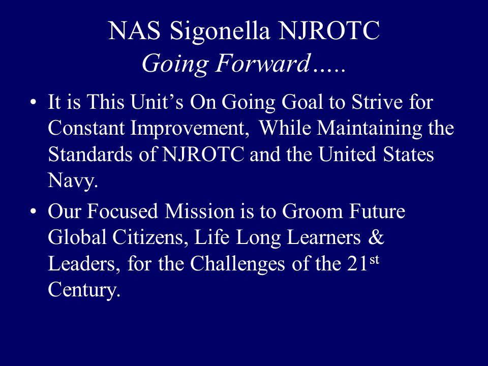 NAS Sigonella NJROTC Going Forward…..