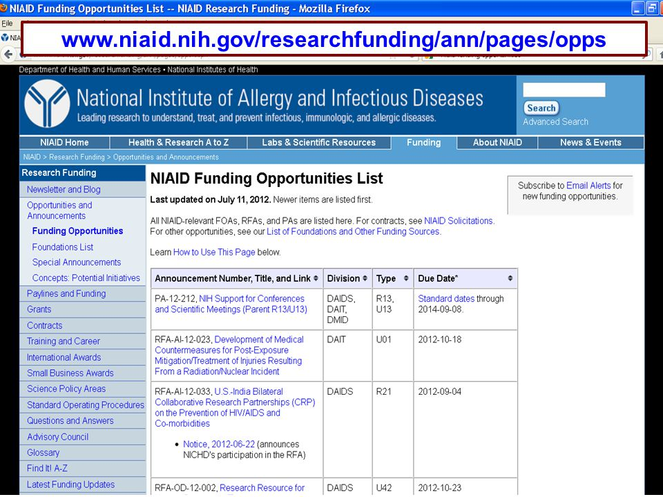 www.niaid.nih.gov/researchfunding/ann/pages/opps